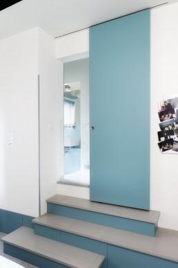 Porta interna scorrevole - Domosystem Pesaro